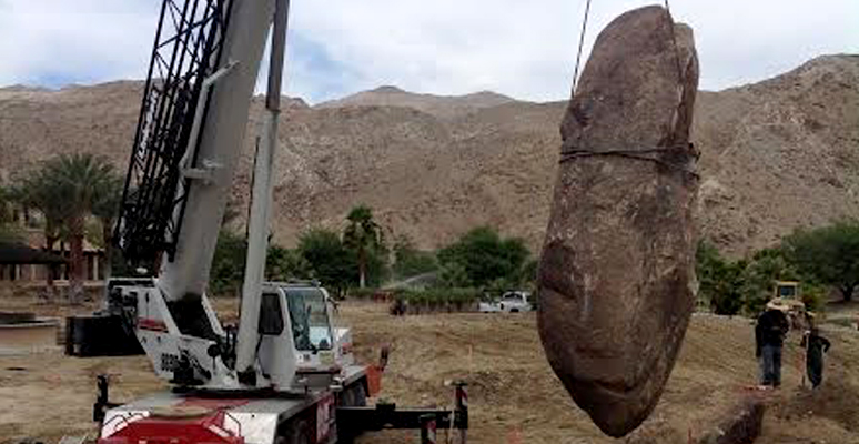 Boulders and Rock Lifts in California